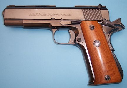 dating llama pistol Crufflercom presents dates of production by model for llama firearms since approximately 1927, spanish law has required that every firearm manufactured in spain be submitted to the eibar.