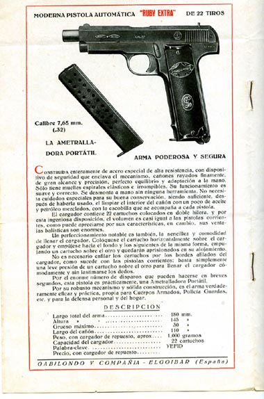 ruby pistol magazine for sale